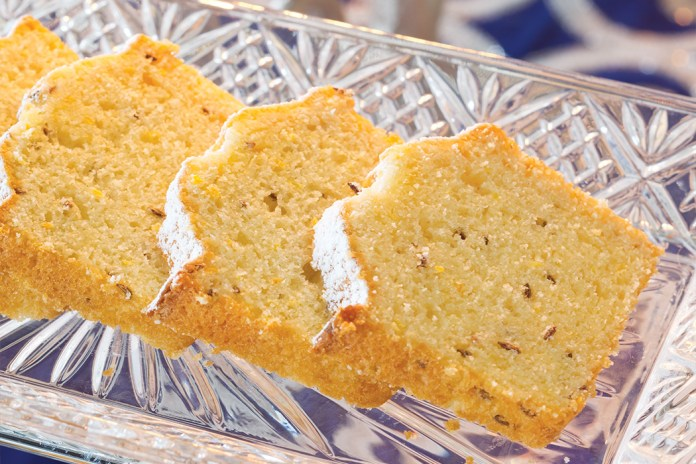Citrus-Caraway Seed Mini Loaf Cakes