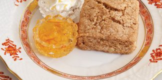 Whole Wheat-Toasted Hazelnut Scones