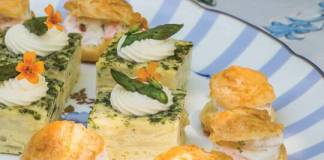 Shrimp-Filled Gougères