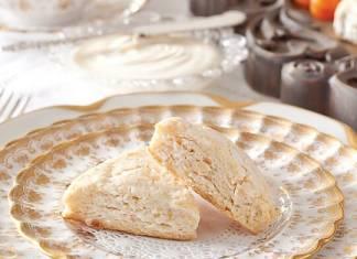 Almond-Cream Cheese Scones