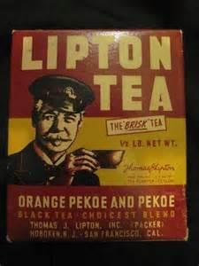 thomas lipton orange pekoe