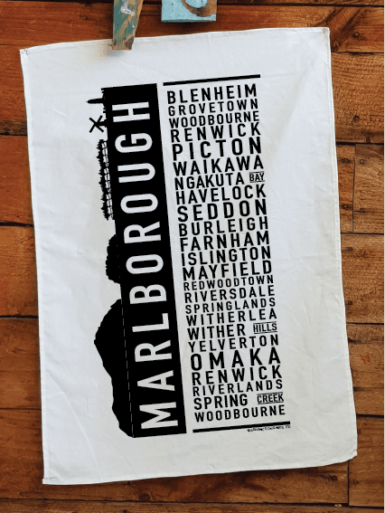 Marlborough Teatowel