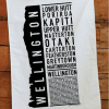 Wellington Printed Teatowel