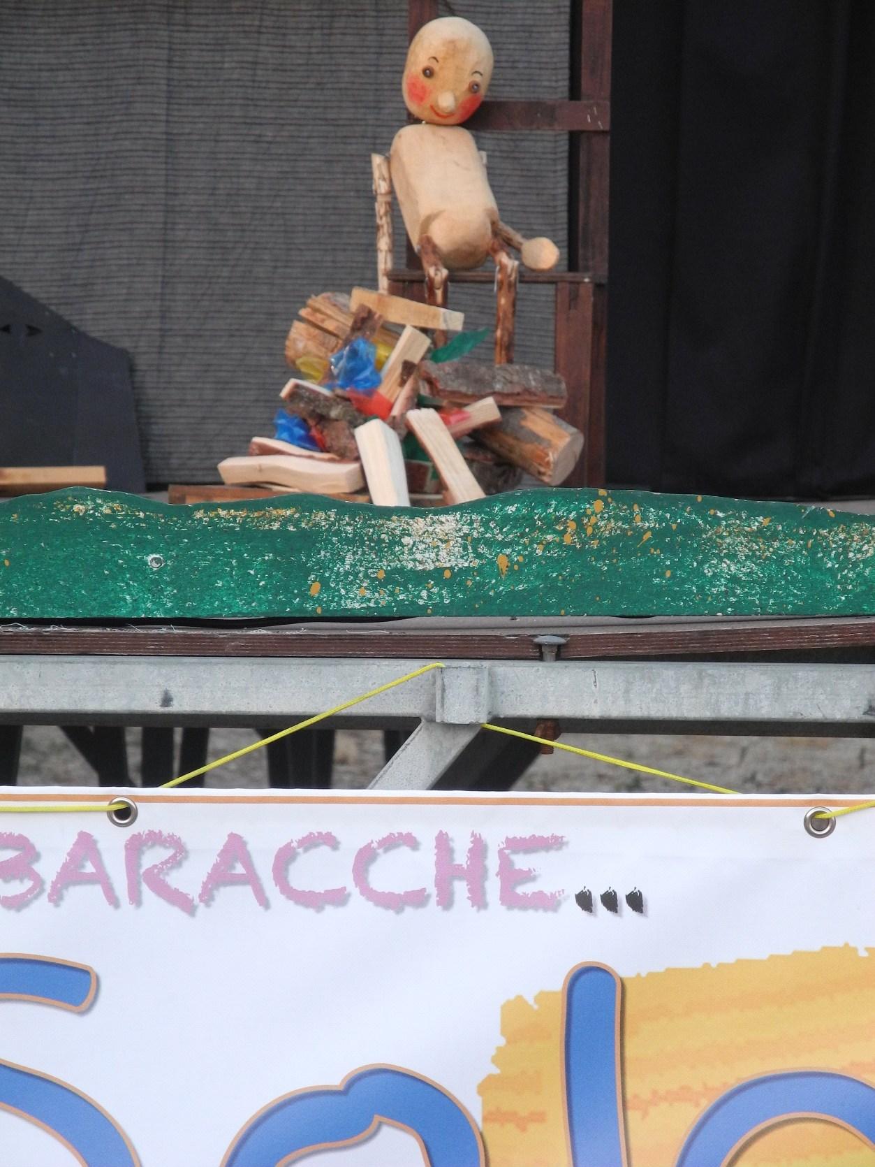 il Pinocchio della Bottega Teatrale al Teatrino del Sole di Piombino