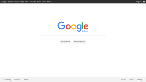 Home page google