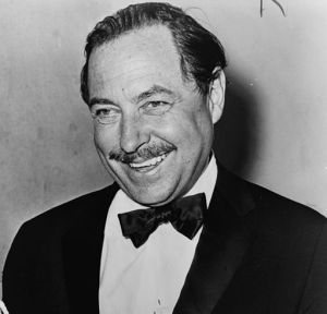 "Tennessee Williams, autore di ""La gatta sul tetto che scotta""."