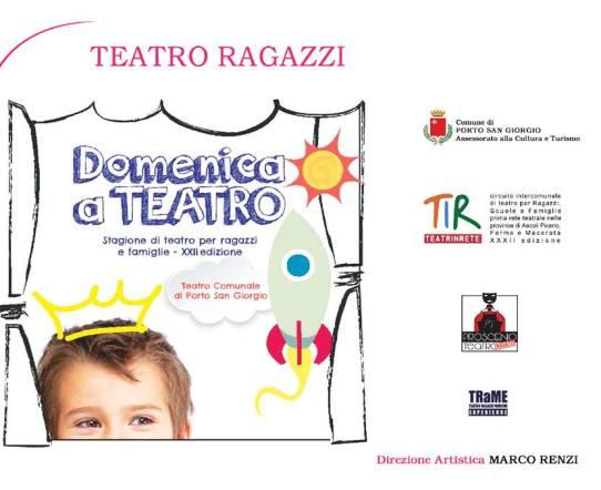 Domenica a Teatro - il teatro per ragazzi