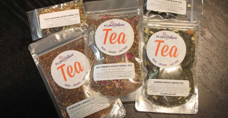 Plum Deluxe Tea Review - Subscription Box Loose Leaf Teas