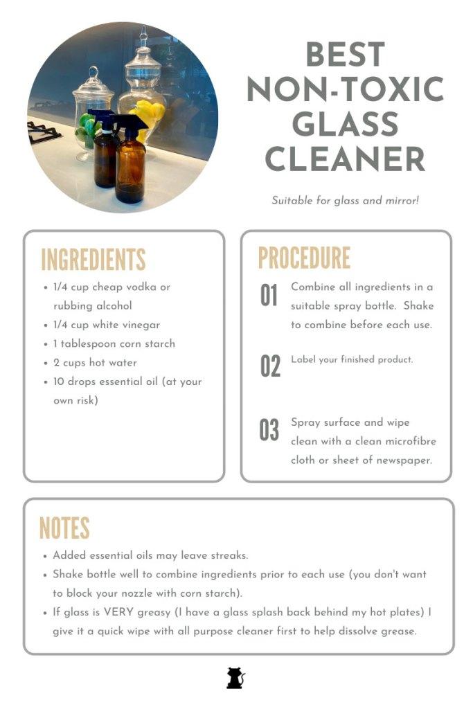 Best Non Toxic Window Cleaner