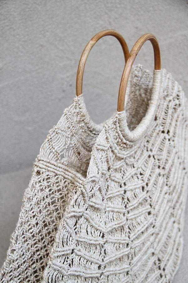 Summer Macrame Bag Gusset