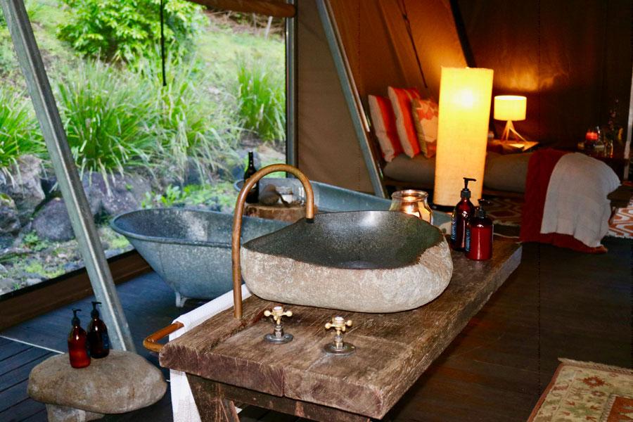 Nightfall Glamping Experience - Twin Bath Tubs