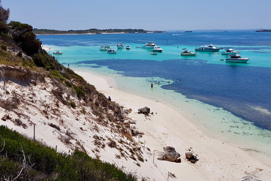 Views of Rottnest Island