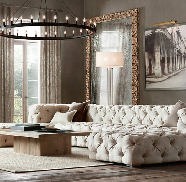 Large Mirror as a Focal Point