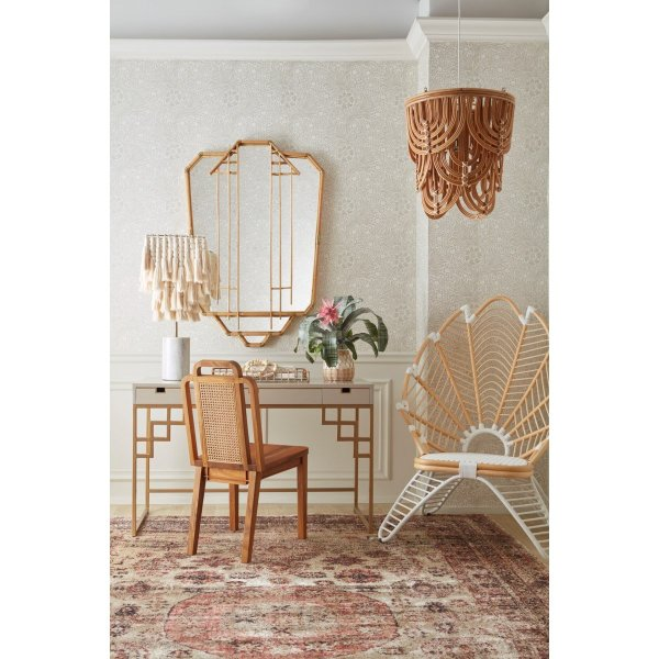 Palm Statement Chair in Setting