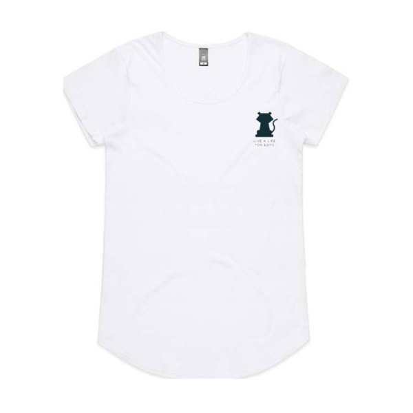 Tigress Tee in White