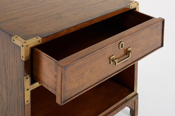 Treasure Chest Bedside with Drawer Open