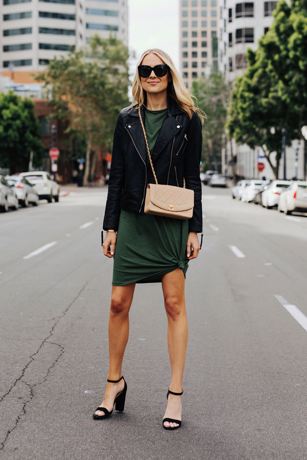 Dramatic Style with T-Shirt Dress