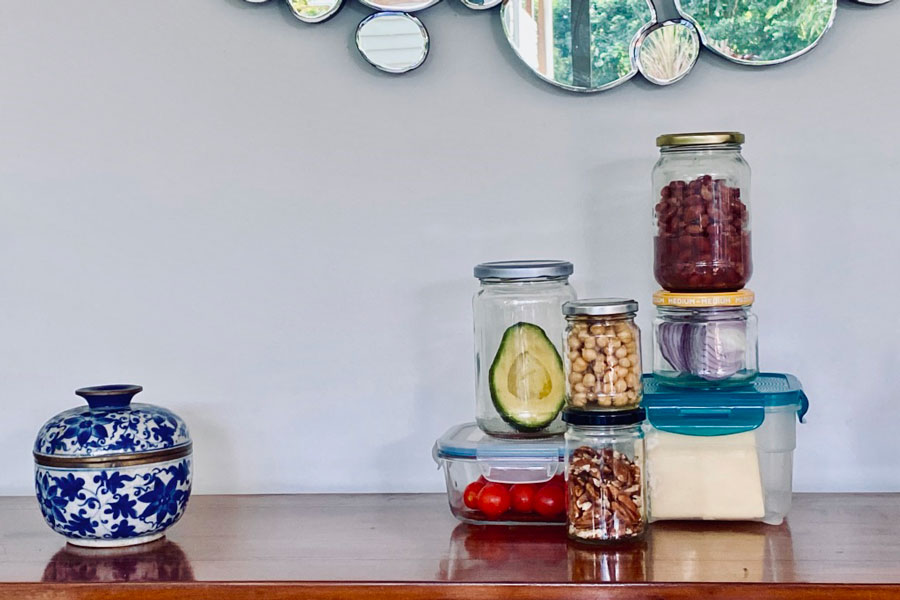 Using Jars to Store Leftovers
