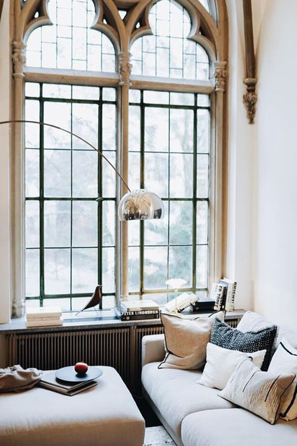 Beautiful Neutrals Form The Base Colour Scheme of Beautiful French Style