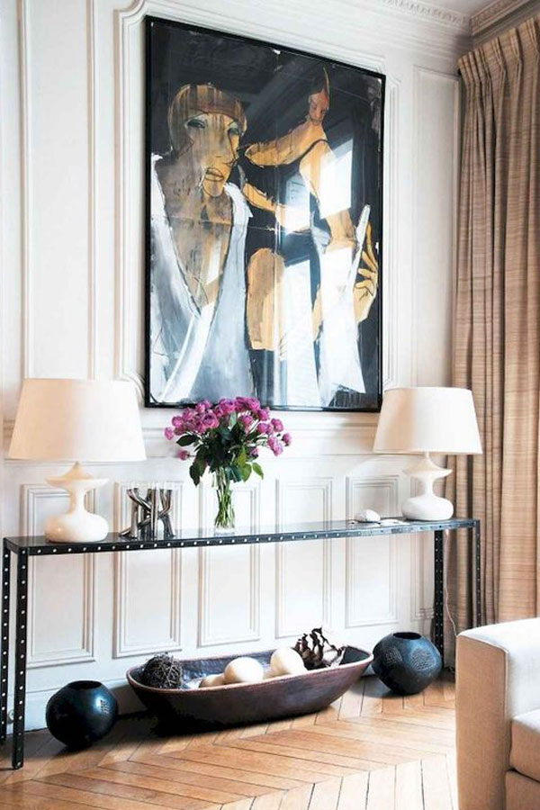 French Interior Style & Eclectic Pieces