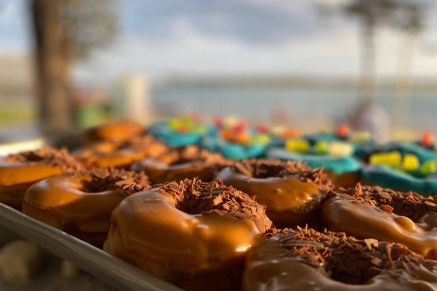 Donuts at the Twilight Markets