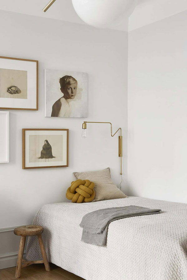 Monochromatic Colour Palette of Neutrals with Lots of Texture