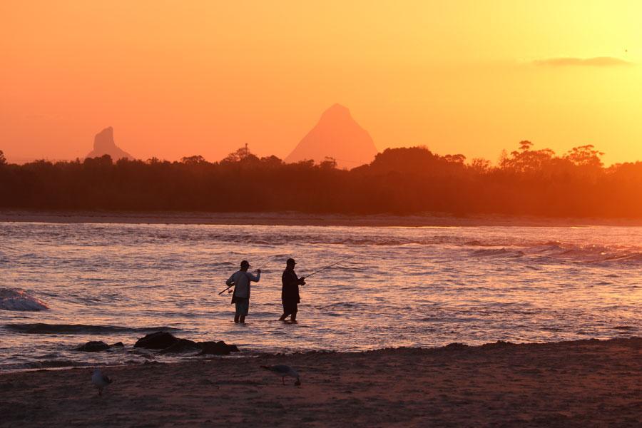 Sunset Over Bulcock Beach