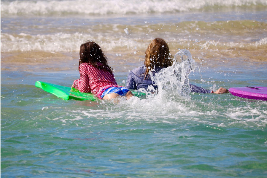 Holiday at Caloundra & Learn to Surf