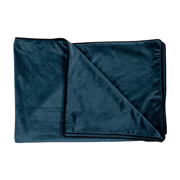 Luxury Indigo Throw