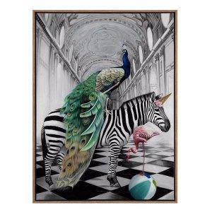 Exotic Wonderland Art Print