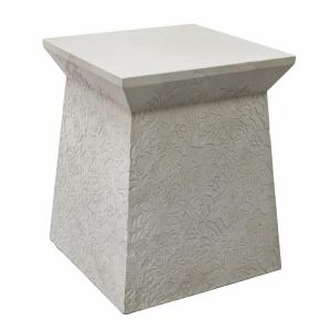Seaweed Concrete Side Table