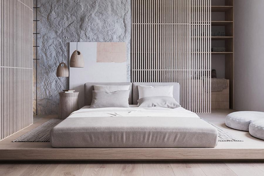 Stunning Textural Apartment by Nazar Tsimbalyuk in Switzerland