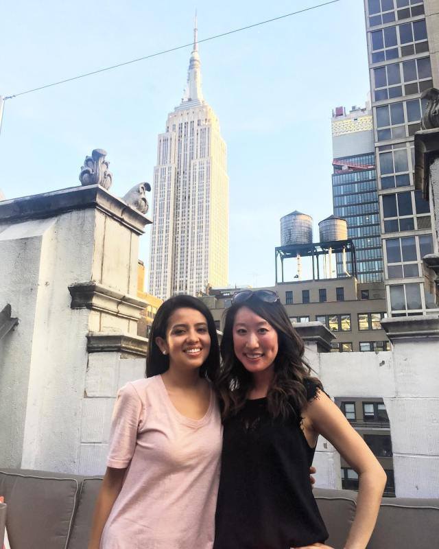 With my future chief resident Gaby before we see Ali Wong