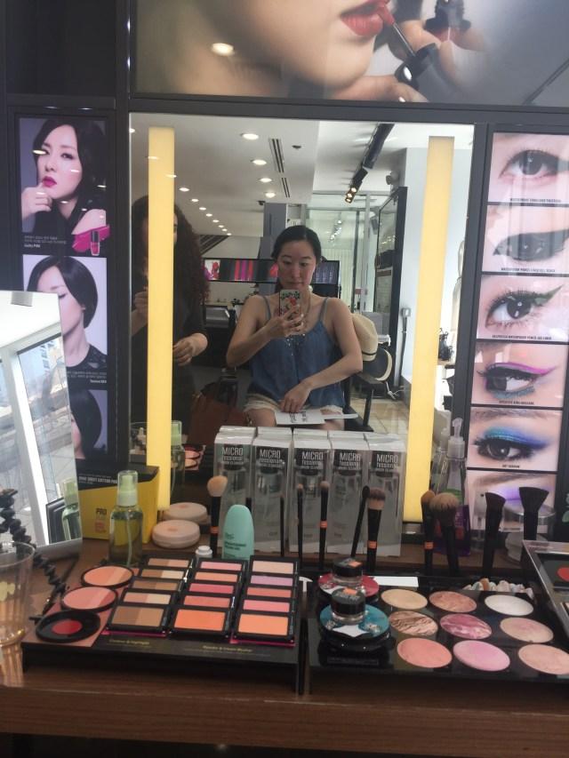 Before the korean beauty makeover