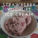 strawberry yoghurt ice cream title