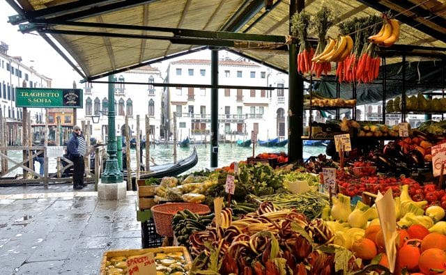Rialto Market - Things to see in Venice with a small child