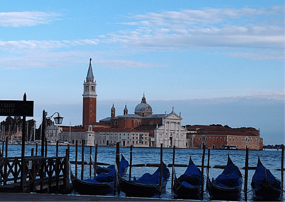 View across the lagoon from San Marco