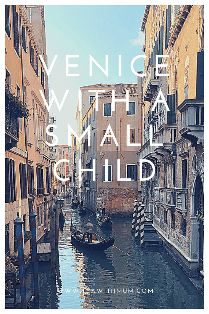 Venice with a small child