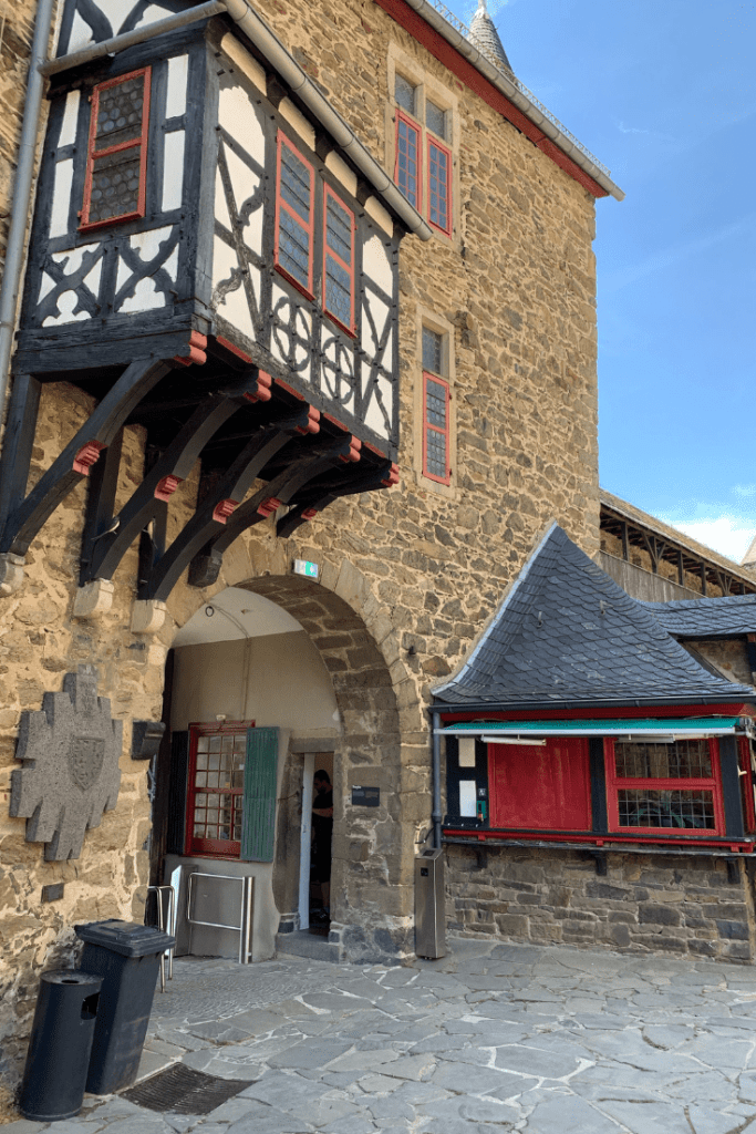 Castle Gate (and Museum entry) at Burg Castle in Solingen