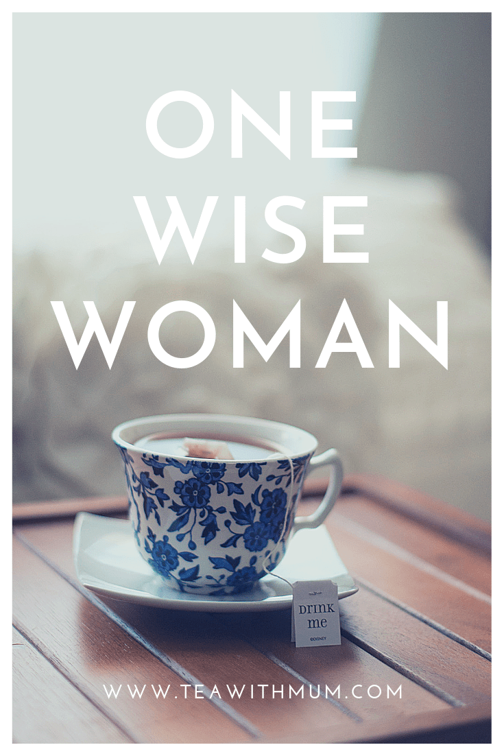 One wise woman - about Tea with Mum