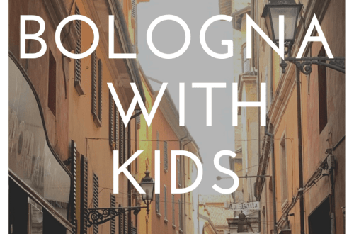 What to do in Bologna with kids: a trip to northern Italy with a small child; foodie heaven