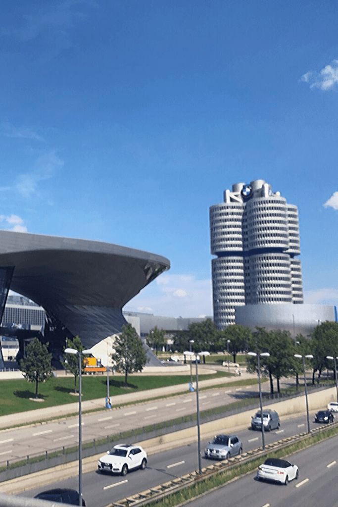 BMW World and BMW Museum, two places for car lovers to visit in Olympic Park, Munich. Day tours in and from Munich. Car lovers in Munich. What to do and see in Munich with kids.