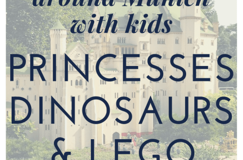 Princesses, dinosaurs and Lego: perfect day trips in and from Munich for kids. What to do in and around Munich with kids. Here Neuschwanstein made of Lego, part of Miniland in Legoland.