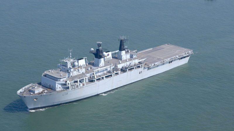 »Kalter Krieg 2.0« | Südchinesisches Meer : Muskelspiele zwischen China und der Royal Navy