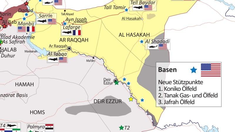 »Krieg in Syrien«  | Vor Etablierung einer Sicherheitszone?