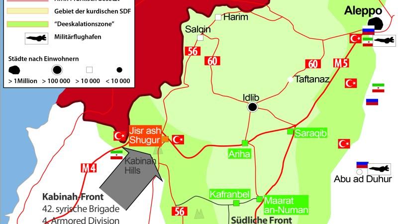 Krieg in Syrien | Syrisch-Russischen Offensive – Stand: 25. September 2019