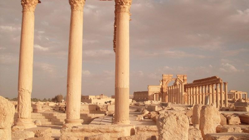 Krieg in Syrien : DER FAST UNBEMERKTE WÜSTENKRIEG