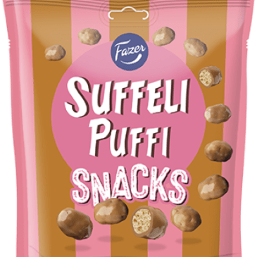 Suffeli Puffi Snacks 180 g