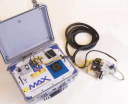 MAX portable x-ray diffractometer