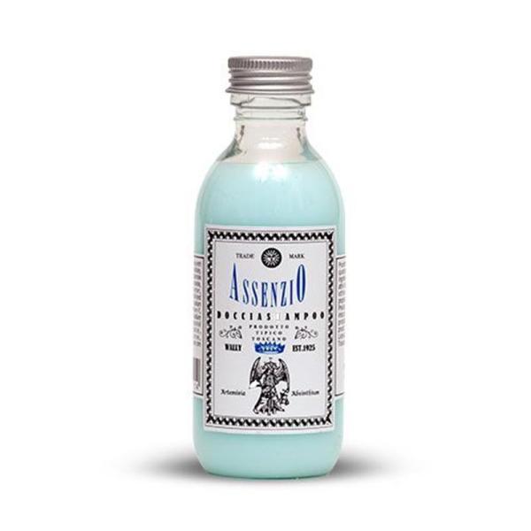 doccia shampoo 125ml all' assenzio wally tec-terreecolori calestano-parma